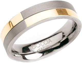 Boccia 女式钛合金戒指 Bicolour 01011068