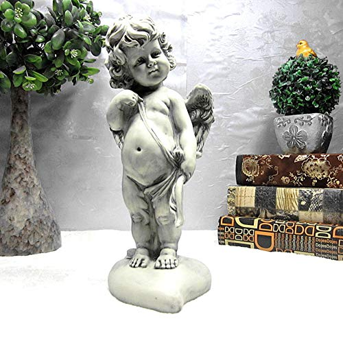 Eros Cupido Escultura,querubín Ángel Estatua,Resina Jardín Estatuas,Adorable Ángel Estatuas,para Interiores Al Aire...