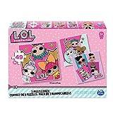 CARDINAL GAMES-Puzzle 3 Pack Bundle L.O.L. ¡Surprise 3 Unidades de Rompecabezas, Multicolor (Spin Master 6052478)