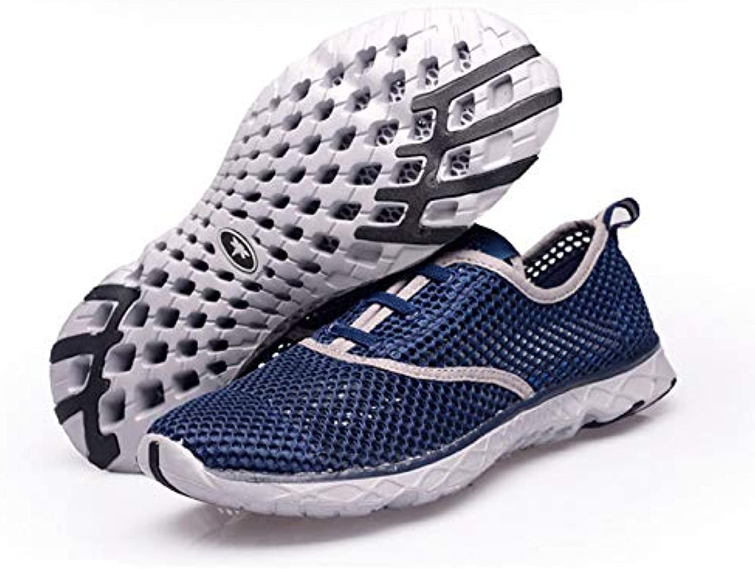 OPPP Water shoes Couple casual shoes hollow upstream men's shoes breathable and quick-drying student couple casual shoes