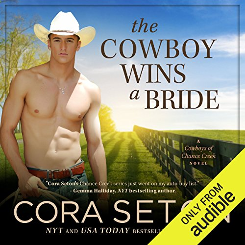 The Cowboy Wins a Bride audiobook cover art