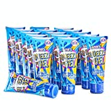 Zazers Sour Squeeze Candy Gel Blue Raspberry Flavor Candy Gel for kids and adults Kosher Candy Novelty Candy Squeeze Candy 2.82 OZ each Bulk Candy Pack of 16