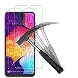 ANEWSIR Panzerglas Schutzfolie für Samsung Galaxy A50/M30s/M31/M21 Displayschutzfolie, [2 Stück] [9H Härte/Blasenfrei/Anti-Kratzer/HD Ultr] Panzerfolie Folie für Samsung Galaxy A50/M30s/M31/M21.