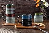 Set of 4 Large 16.5 Oz/480 ML Ceramic Coffee Mugs, Big Tea Cup Mug for Office and Home