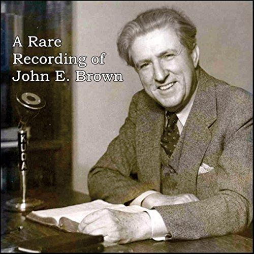 A Rare Recording of John E. Brown cover art