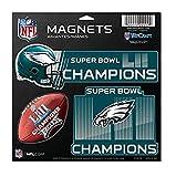 NFL Philadelphia Eagles Super Bowl LII Champions 3-Piece Magnet Set