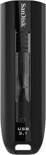 SanDisk Extreme Go 64GB USB 3.1 Flash Drive (Black)