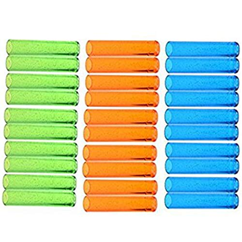 Ogrmar Assorted Colors Plastic Pencil Cap Pencil Shield Pencil Extender Holder 30pcs (Assorted Colors)