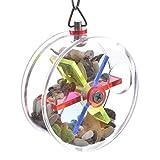 HappyBird ® | Vogelspielzeug Treat Wheel Maze für Sittiche & Papageien