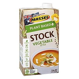 Massel Organic Vegetable Style Liquid Stock - Plant Based, Low FODMAP & Gluten-Free, 1L Pack (B07HN69CPF)   Amazon price tracker / tracking, Amazon price history charts, Amazon price watches, Amazon price drop alerts