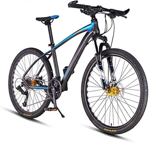 MJY Mountain Bikes, 26 inch Big Wheels Mountain Bike, Overdrive Aluminum Frame Mountain Trail Bike, Mens Women Bicycle,27 Speed 5-29,B