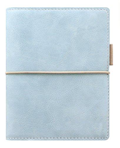Filofax Domino SOFT–Agenda archivador de bolsillo (con anillas), color azul