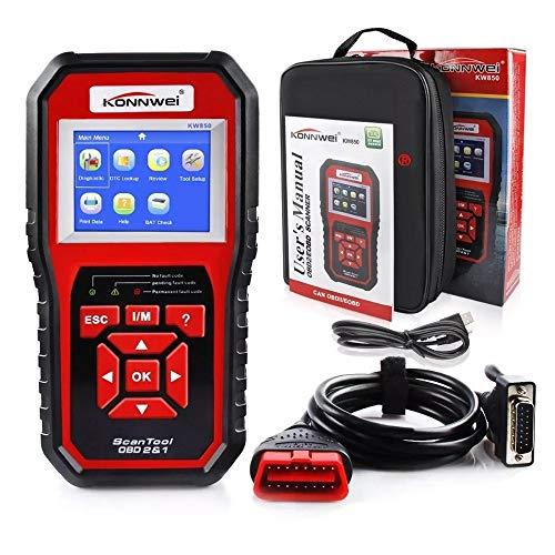 Scanner Automotivo Aparelho Konnwei KW850 Obd2 Diagnostico Automotivo Ferramenta De Diagnostico GT731 - Lorben