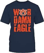 FanPrint Auburn Tigers T-Shirt - War Damn Eagle