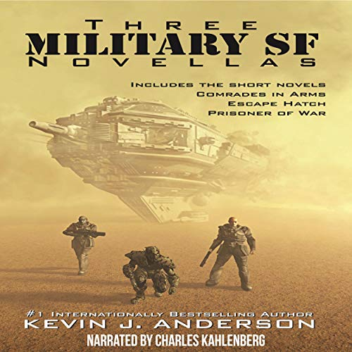 Couverture de Three Military SF Novellas
