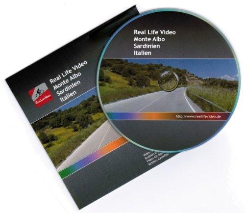 Real Life Video  DVD – Monte Albo (Sardinien) (für Tacx, Daum, Kettler, CycleOps und Cyclus 2)
