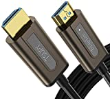 Fiber Optic HDMI Cable 100ft, TSUPY 4K 60Hz HDMI 2.0b Cable Supports High Speed 18Gbps 3D 4K HDR 4 4 4 Compatible for Apple TV, HDTV, Roku TV Box, Playstation 4 PS3, Xbox 360 One, Nintendo Switch