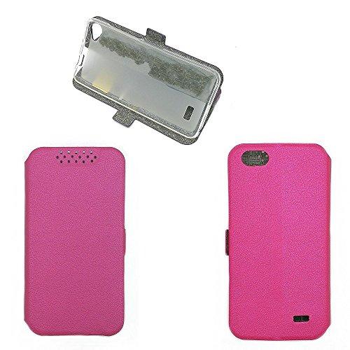 QiongniAN Hülle für Acer Liquid Z6E hülle Schutzhülle Hülle Cover Pink