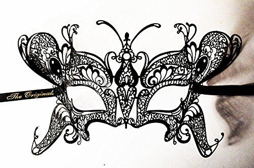 JapanAttitude Masque loup vénitien élégant gothique Papillon, Farfalla