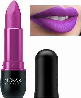 Nicka K New York Vivid Matte Lipstick (Hot Magneta)