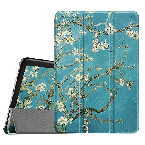 FINTIE Case for Samsung Galaxy Tab S2 8.0 - Super Thin Lightweight SlimShell Stand Cover with Auto Sleep/Wake Feature for 2015 Galaxy Tab S2 (Model: SM-T710 / T715 / T713 /T719), Blossom