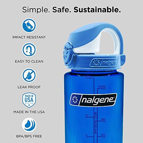 nalgene(ナルゲン)OTFアトランティスボトル0.65Lクリアレッド91441