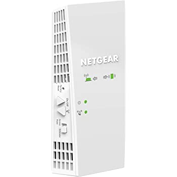 NETGEAR WiFi Mesh Range Extender EX6250 - Coverage up to 2000 sq.ft. and 32 devices with AC1750 Dual Band Wireless Signal Booster & Repeater (up to 1750Mbps speed), plus Mesh Smart Roaming