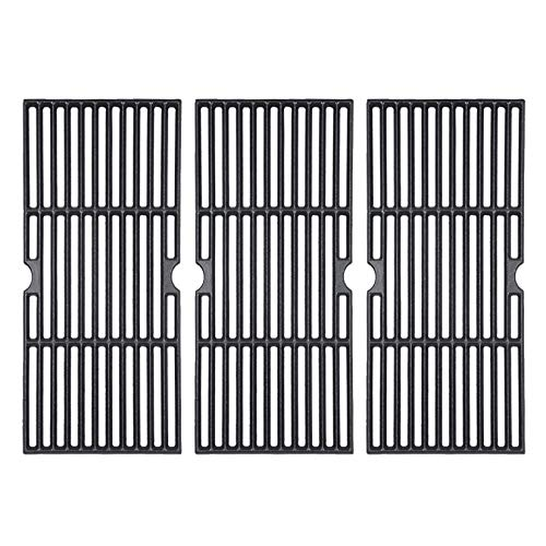 GGC 16 7/8' Grill Grates Replacement for Charbroil 463420508, 463420509, 463420511, 463436213, 463436214, 463440109, 463441312, Master Chef, Thermos and Backyard, 3 PCS 16 7/8 x 9 5/16 Cooking Grids