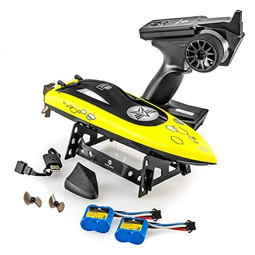 Altair MidSize AA Wave RC Remote Control Boat For Pools & Lakes - FREE PRIORITY SHIPPING - Child Safe Propeller System for Kids, Self Righting, 2 Batteries, 23 km/h Speed, 2.4gHz (Lincoln, NE Company)