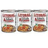 Litoral Fabada Asturiana 435 gr. - [Pack de 3]