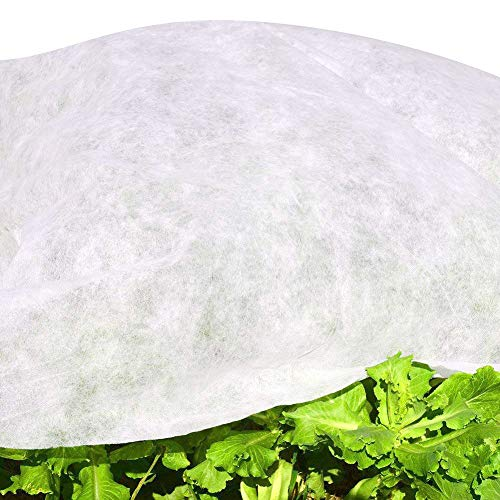 Gardeningwill W-20 g Protection polaire pour les plantes contre les insectes et le gel 3M x 15M blanc