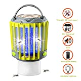 SUPOLOGY Camping Lantern With Bug Zapper,IP67 Waterproof 4 Lighting Modes Dimmable USB Rechargeable For...