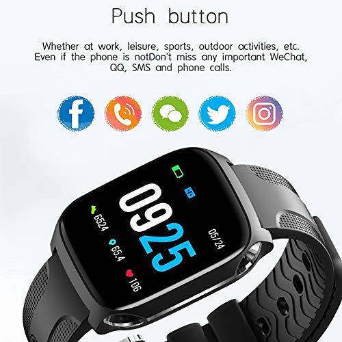 TF9 Smart armband met full touch-functie, grote accu, 1,3 inch (1,3 inch) kleurendisplay, IPS, oplaadclip via USB