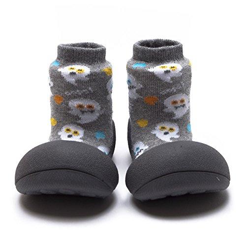 Attipas Zapatos Primeros Pasos- Modelo Halloween- (19, Gris)