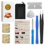 for 38mm Apple Watch Series 1 Battery Replacement A1578, A1802, (1st Generation) A1553 with Repair Tool Parts + Back Cover Adhesive + Installation Instruction
