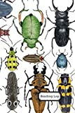Reading Log: Reading Log and Book Record for Kids - with Water-Colored Beetles Cover