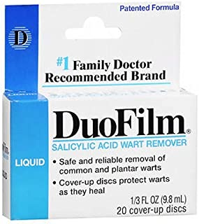 DuoFilm Wart Remover Liquid 0.33 oz (Pack of 4)