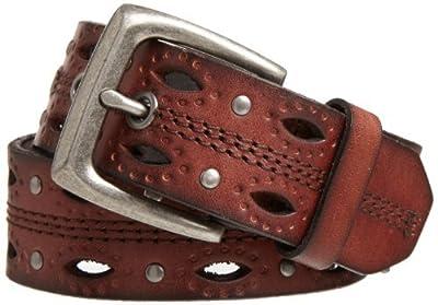 Carhartt Women's Signature Casual Belt, DearBorn Brown, X-Large
