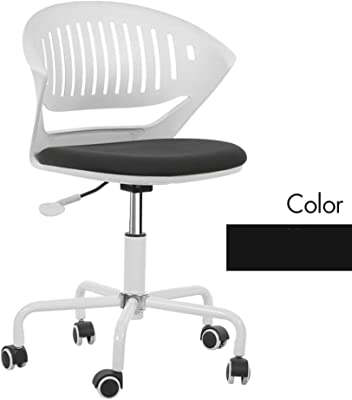 Amazon.com: FunitureR Kids Study Chair Armless Swivel Desk ...