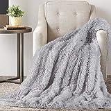 TAOCOCO Kuscheldecke Felldecke Wohndecke Microfaser Mikrofaserdecke Fleecedecke Sofadecke Tages Klimaanlage Decke Leicht für Couch Bett (Grau, 130 x 160 cm)