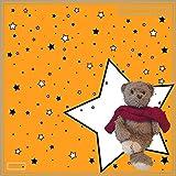 Personalisierter Kinderschal 'My best friend' bedruckt mit dem Lieblingskuscheltier Ihres Kindes - Schal / Halstuch - personalisiert mit einem Bild Ihrer Wahl