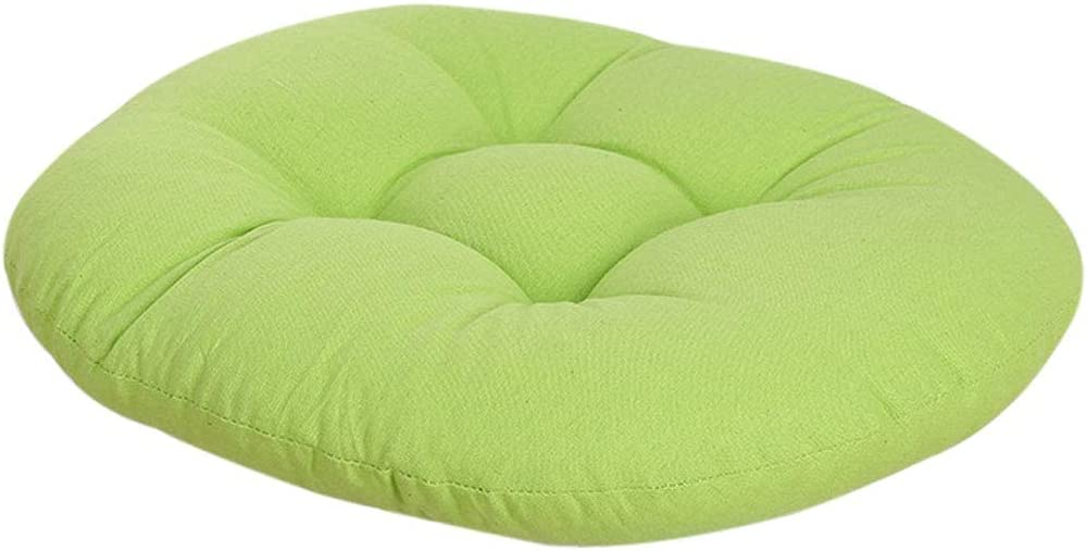 XYSQWZ Round Solid Color Chair Tatami Pads Pillow Cushion Max 87% OFF Max 56% OFF Floor