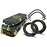 Dunlop Crybaby DB-01 Dime Crybaby From Hell Wah Pedal w/4 FREE Cables