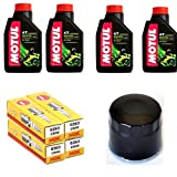MIM Distribution Kit tagliando Olio Candele e Filtro Olio per Suzuki-GSR 600 dal 2005 Fino al 2017