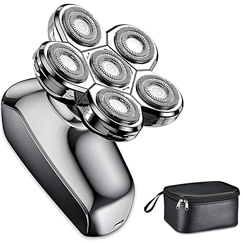 Head Shaver, 6D Floating Electric Head Shavers for Bald Men, LED...