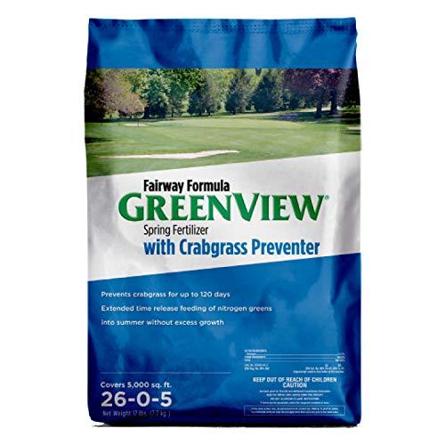 GreenView 2129829 Fairway Formula Spring Fertilizer + Crabgrass Preventer