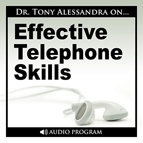 Effective Telephone Skills audiobook cover art