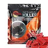 RatKil® Rat Poison 300g Rat And Mouse Killer Bait Blocks - Professional Strength