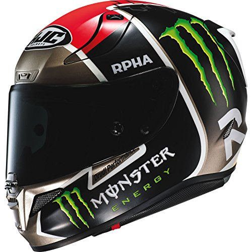 Casco Moto Hjc Monster Rpha Ii Jonas Folger Mc1sf Nero (M, Nero)