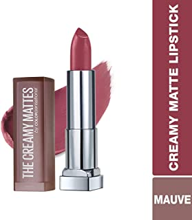 Maybelline Color Sensational Creamy Matte Lipstick, Touch of Spice, 0.15 oz.